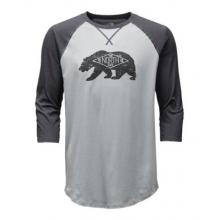 Men's 3/4 Sleeve Heritage Bear Cub Tee
