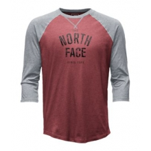 Men's 3/4 Sleeve Varsity Club Tee by The North Face in Columbus Ga