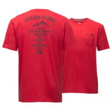 Men's S/S Np On-Tour Pocket Tee by The North Face