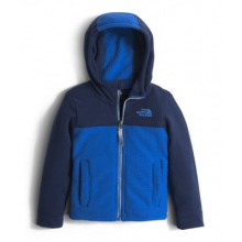 Todd Boy's Lil' Grid Fleece Hoodie by The North Face