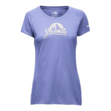 Women's S/S Np Script Slim Scoop Neck Tee by The North Face