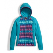 Girl's Glacier Full Zip Hoodie by The North Face in Sioux Falls SD