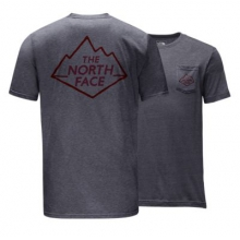 Men's S/S Peek Geek Tri-Blend Pkt Tee by The North Face in Tustin Ca