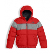 Boy's Moondoggy 2.0 Down Hoodie by The North Face in Okemos Mi