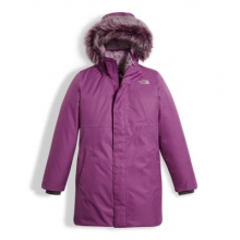 Girl's Arctic Swirl Down Jacket