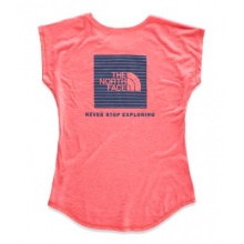 Girl's Triblend Scoop-Neck Tee by The North Face in Jonesboro Ar