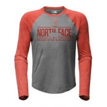 Men's L/S Double Bar Raglan Baseball Tee by The North Face