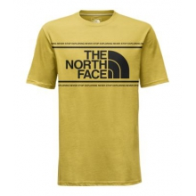 Men's S/S Well-Loved Edge To Edge Tee by The North Face in Golden Co
