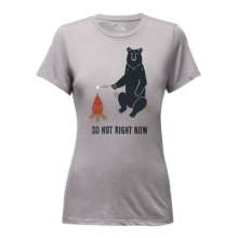Women's Chilling Bear Tri-Blend Tee