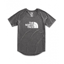Women's S/S Hd Graphic Tri-Blend Baseball Tee by The North Face in Iowa City IA