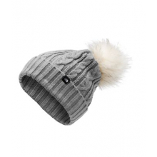 Women's Oh-Mega Fur Pom Beanie by The North Face in Iowa City IA