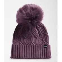 Women's Oh-Mega Fur Pom Beanie by The North Face in Aurora CO