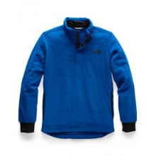Boy's Mountain Sweatshirt 1/4 Snap Neck