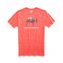 Men's S/S Pony Wheels Tri-Blend Tee by The North Face in Iowa City IA