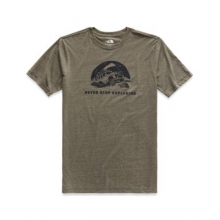 Men's S/S Pony Wheels Tri-Blend Tee by The North Face in Auburn Al