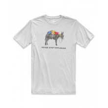 Men's S/S Pony Wheels Tri-Blend Tee by The North Face