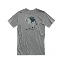Men's S/S Rest Assured Tri-Blend Tee by The North Face