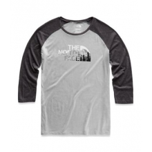 Women's Heritage 3/4 Baseball Tri-Blend Tee by The North Face in Iowa City IA