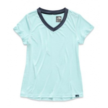 Women's HyperLayer FD S/S V-Neck by The North Face in Dublin Ca