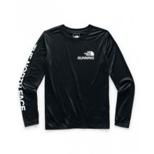 Women's L/S Reaxion Amp Graphic Tee by The North Face