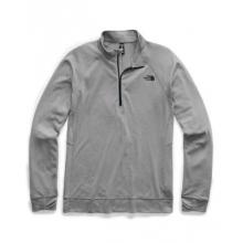 Men's Warm Wool Blend L/S Zip Neck