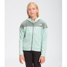 Girl's Glacier Full Zip Hoodie by The North Face