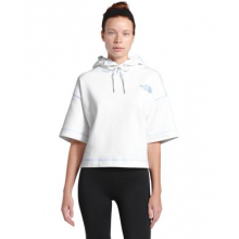 Women's S/S Logo Cropped Hoodie by The North Face