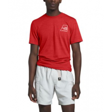 Men's S/S Logo Marks Tri-Blend Tee by The North Face in Sioux Falls SD