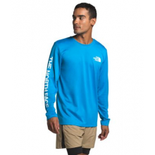 Men's L/S Reaxion Graphic Tee by The North Face