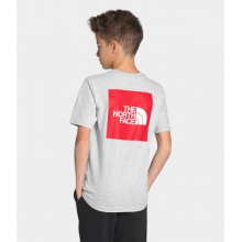Boy's S/S Red Box Tee by The North Face