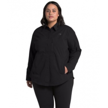 Women's Plus Outdoor Trail L/S Shirt by The North Face