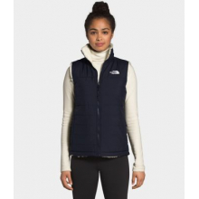 Women's Mossbud Insulated Reversible Vest by The North Face in Alamosa CO