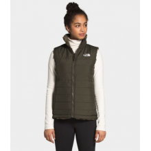 Women's Mossbud Insulated Reversible Vest by The North Face in Sioux Falls SD