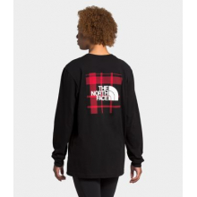 Unisex L/S Holiday Red Box Tee by The North Face in Littleton CO
