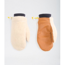 Uni Brown Label Mitt by The North Face