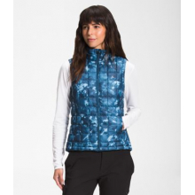 Women's Printed ThermoBall Eco Vest by The North Face in Alamosa CO