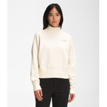 Women's Simple Logo Funnel Neck Relaxed Crew by The North Face in Chelan WA