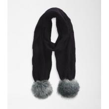 Women's Oh-Mega Fur Pom Scarf