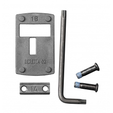 DeltaPoint Pro Dovetail Mount, Beretta 92 Matte by Leupold