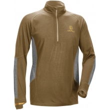 Secluded Baselayer 1/2 Zip  Shadow Tan/Gray XL by Leupold