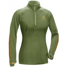 W's Secluded Baselayer 1/2 Zip  Shadow Green/Tan LRG by Leupold