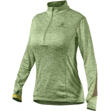 Women's Covert 1/2 Zip Green Heather XL
