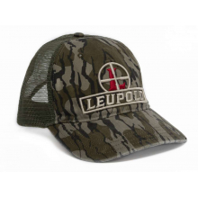 #111 Bottomland Reticle Trucker Hat Camo/Green OS by Leupold