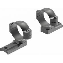 DD Remington 700 RVF 2-pc Base/30mm Medium Rings Matte by Leupold