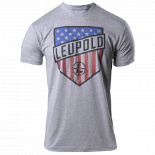 Stars & Stripes Tee Heather Grey M