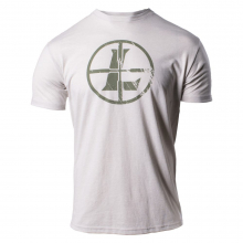 Distressed Reticle Tee Sand L by Leupold