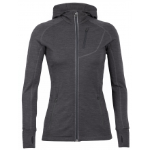 Women's Quantum LS Zip Hood by Icebreaker in Boulder Co