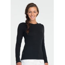 Women's Tech Top Long Sleeve Crewe by Icebreaker in Pitt Meadows Bc