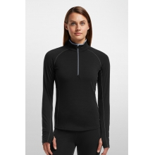 Women's Zone LS Half Zip by Icebreaker in Red Deer Ab