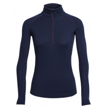 Women's Zone LS Half Zip by Icebreaker in Calgary Ab